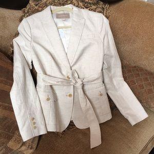 Banana Republic Cotton Linen Blazer